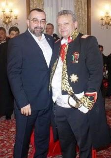 "George Roncea – de la camasa verde la pelerina de ""cavaler"" maltez"
